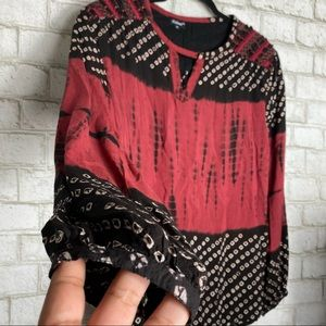 Tolani caitlyn long sleeve blouse